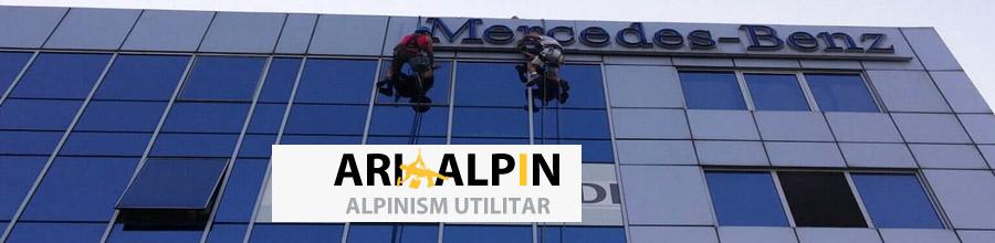 Ari Alpin - Alpinism utilitar, Bucuresti Logo