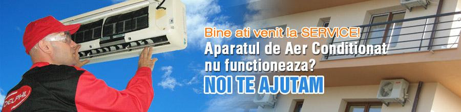 REPARATII AER conditionat, agregate frigorifice Bucuresti Logo