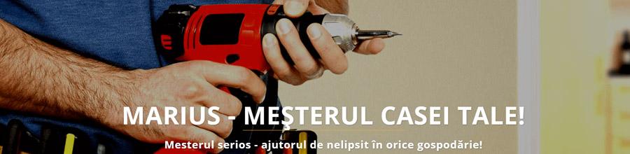 MARIUS INSTAL servicii tehnice instalatii electrice Bucuresti Logo