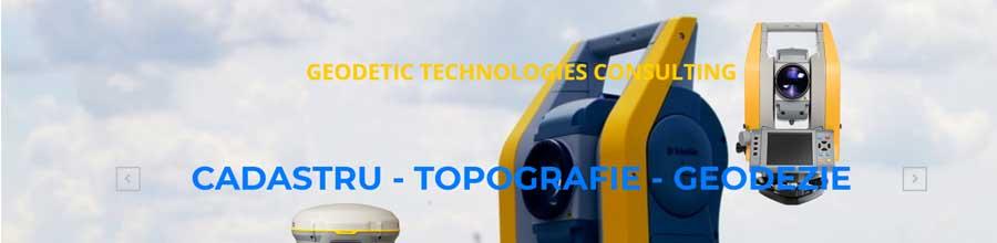 Geodetic Technologies Consulting - Cadastru, topografie si geodezie Bucuresti, Ilfov Logo