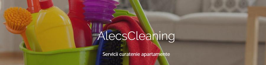 Alecs Cleaning servicii curatenie Bucuresti Logo