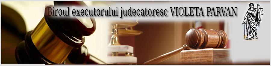 BIROU EXECUTOR JUDECATORESC PARVAN VIOLETA Logo