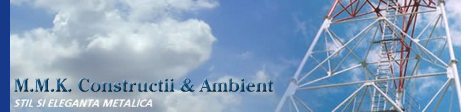 CONFECTII METALICE- M.M.K. CONSTRUCTII & AMBIENT Logo