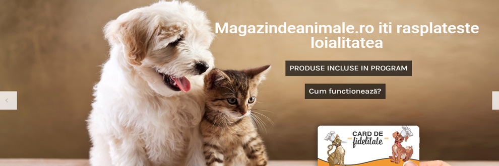 Magazindeanimale.ro - hrana, accesorii animale Bucuresti Logo