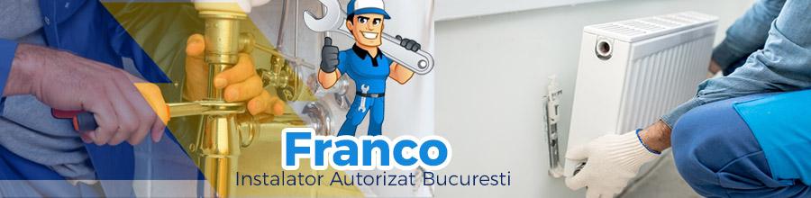 Franco Instalator Autorizat Bucuresti, Ilfov Logo