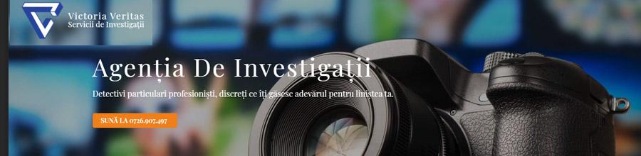 Victoria Veritas Servicii de investigatii Slatina, Olt Logo