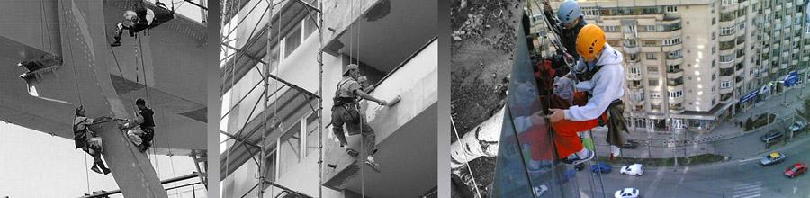 Alpinisti utilitari, reparatii-zugraveli fatade Bucuresti Logo