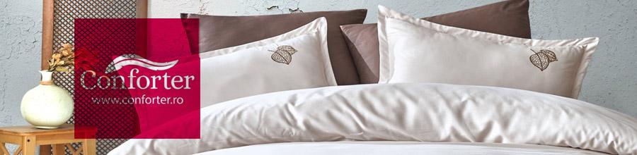 Conforter - Magazin online lenjerii de pat Logo