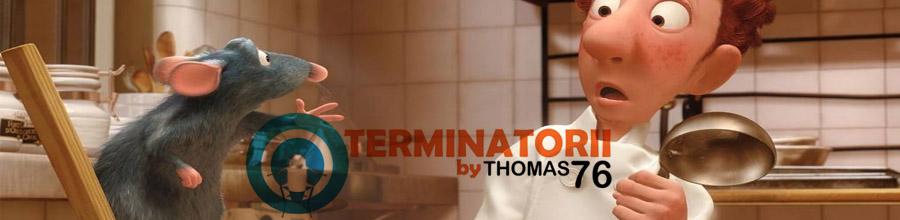 Terminatorii Thomas 76 - Dezinsectie, deratizare si dezinfectie, Bucuresti Logo