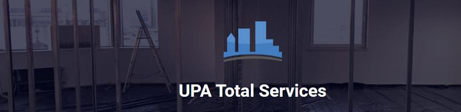UPA Total Services - Amenajari interioare, instalatii, partitii sticla Bucuresti Logo