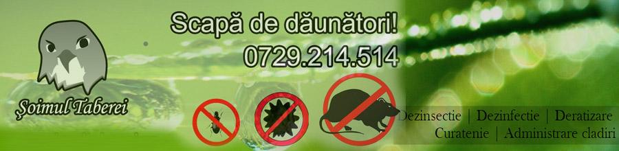Soimul Taberei - Dezinsectie, dezinfectie, deratizare, curatenie, Bucuresti Logo