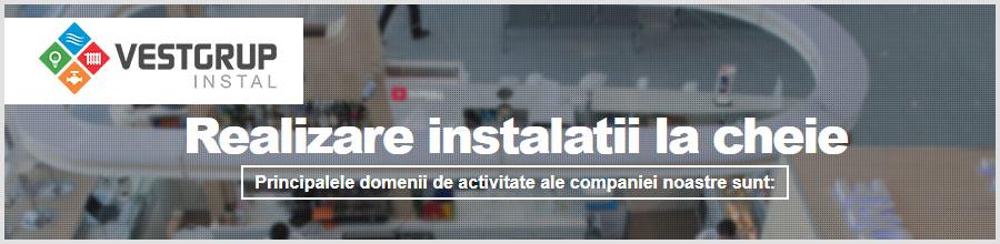 VEST GRUP INSTAL Bucuresti - Instalatii sanitare, termice, ventilatii Logo