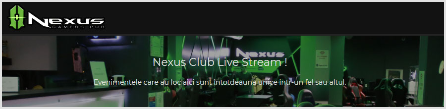 Nexus Gamers Pub - Internet Cafe Bucuresti Logo