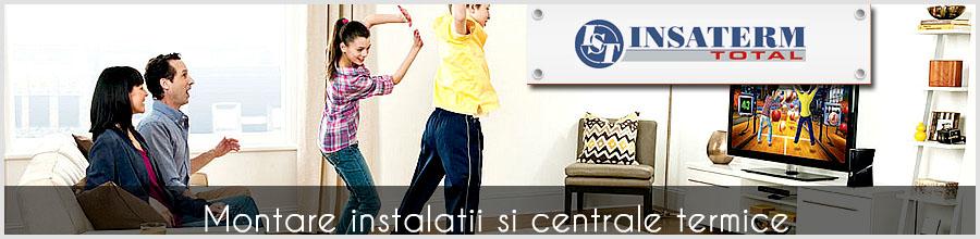 Insaterm Total,Bucuresti - Instalatii de incalzire, sanitare,climatizare Logo
