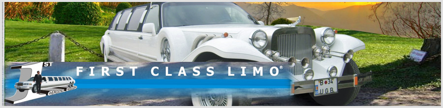1st CLASS LIMO Logo
