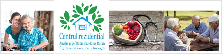 CENTRUL REZIDENTIAL AMALIA SI SEF RABIN DR. MOSES ROSEN Logo