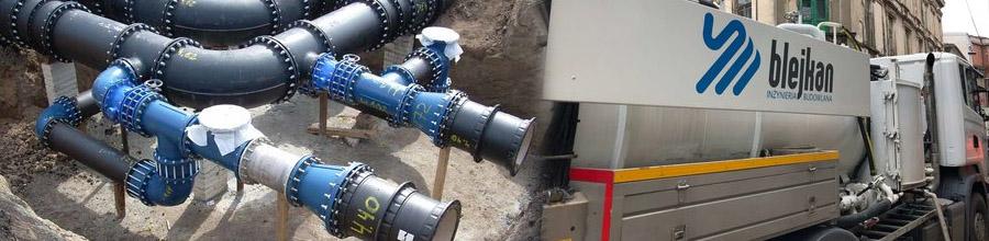 Blejkan Construct - Reabilitari fara sapatura a sistemelor de canalizare, Bucuresti Logo
