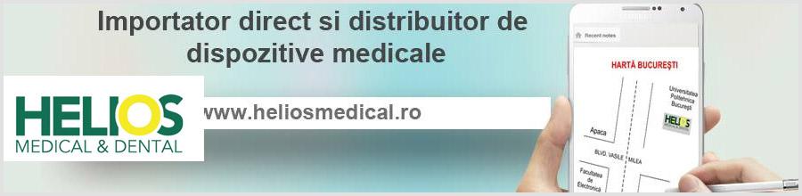 HELIOS MEDICAL & DENTAL distributie dispozitive medicale Bucuresti Logo