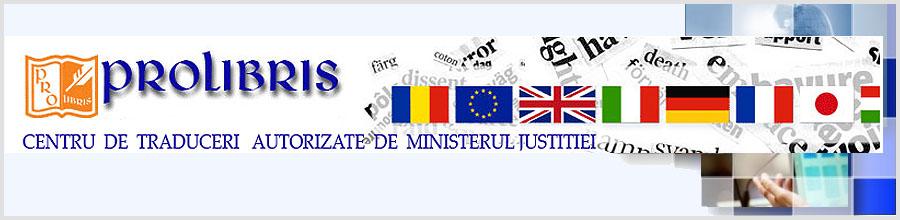 BIROU TRADUCERI PROLIBRIS Bucuresti Logo