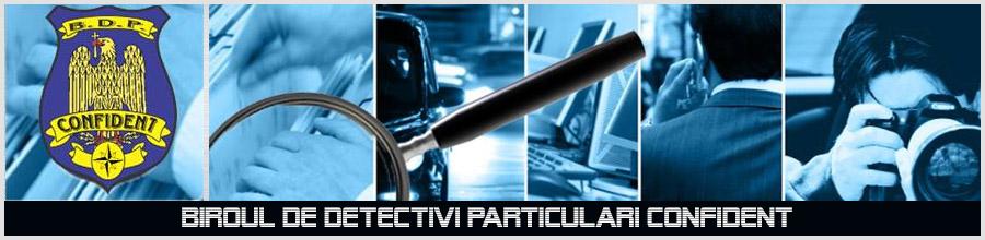 BIROUL DE DETECTIVI PARTICULARI CONFIDENT Logo