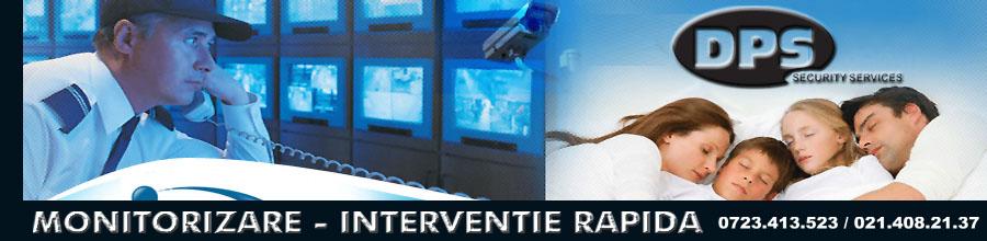 MONITORIZARE INTERVENTIE RAPIDA DPS SECURITY Logo