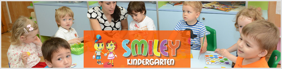 GRADINITA SMILEY KINDERGARDEN Logo