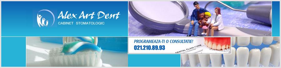 CABINET STOMATOLOGIC ALEX ARTDENT Logo