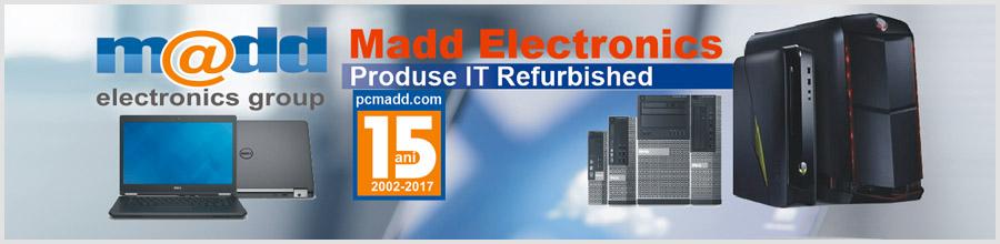 MADD ELECTRONICS Logo