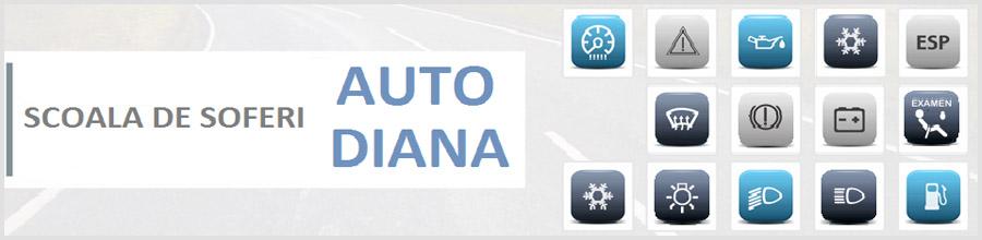 SCOALA DE SOFERI AUTO DIANA Logo