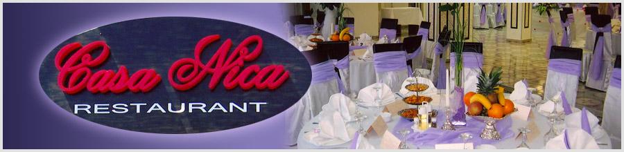 RESTAURANT CASA NICA Logo