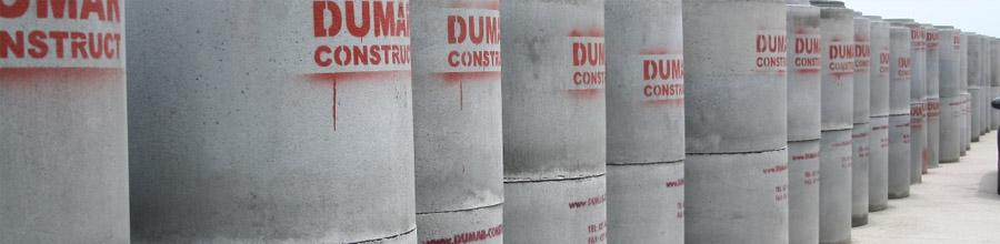 Dumar Construct, Magurele / Ilfovv - Comercializare prefabricatele de beton Logo