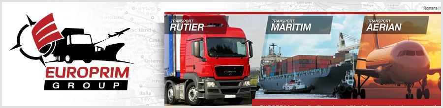 Europrim Shipping servicii logistice complete Bucuresti Logo