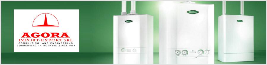 Agora Import Export - Centrale termice si boilere Keston, Bucuresti Logo