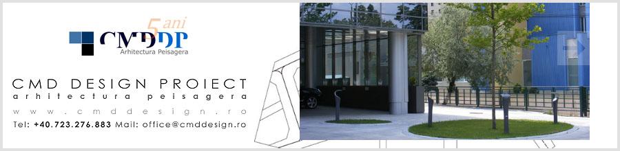 CMD Design Proiect, Birou arhitectura Bucuresti Logo