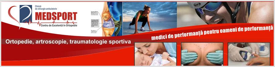 CLINICA MEDICALA MEDSPORT Logo