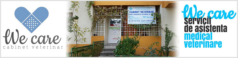 CABINET VETERINAR WE CARE COMPANY Logo