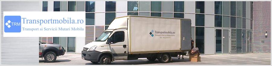 TRANSPORT MOBILA Servicii Profesionale Mutari Mobila Bucuresti Logo