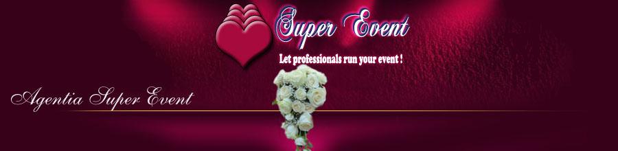 AGENTIA SUPER EVENT servicii pentru nunti, botezuri si petreceri Bucuresti Logo