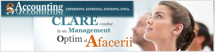 E-Accounting - servicii financiar-contabile Bucuresti Logo