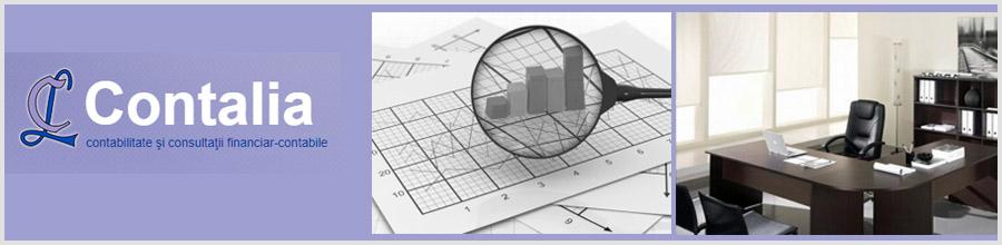 CONTALIA - Contabilitate si consultanta financiar-contabila Bucuresti Logo