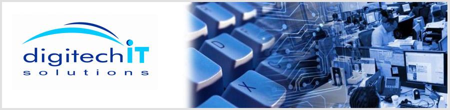 DigiTech Solutions Bucuresti - Service calculatoare, solutii IT Logo