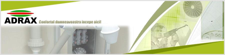 Adrax Construct Bucuresti - Instalatii gaze Logo