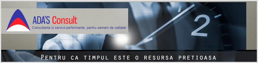ADA \S CONSULT resurse umane, contabilitate sector 6 Logo