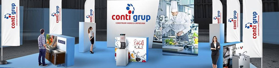Conti Grup, Bucuresti - Utilaje, echipamente si accesorii Horeca Logo