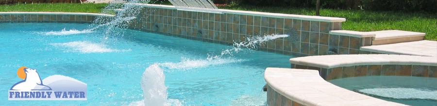 Friendly Water, Bucuresti - Echipamente pentru piscine, aqua-parkuri Logo