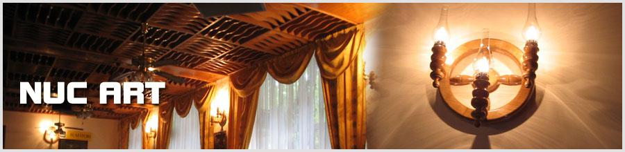 Nuc Art - Mobilier din lemn masiv la comanda, Bucuresti Logo
