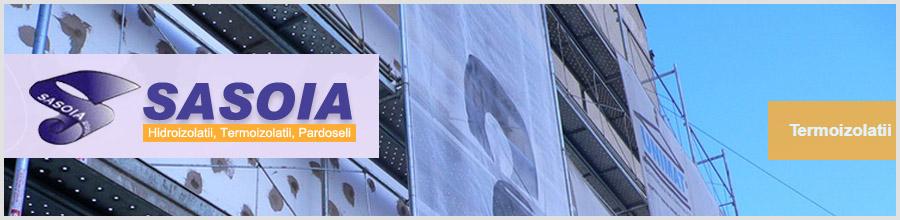 Sasoia 2003 - Hidroizolatii, termoizolatii, Bucuresti Logo