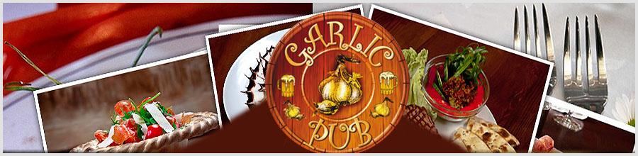 GARLIC PUB Logo