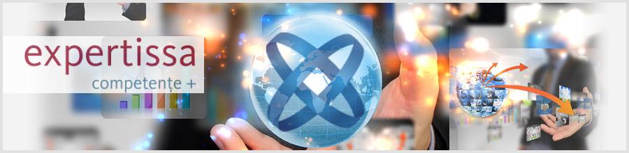 EXPERTISSA Bucuresti - Servicii IT integrate, inchirieri si service imprimate Logo
