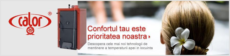 Calor, Bucuresti - Centrale termice, instalatii sanitare Logo